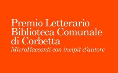 Premio Letterario Biblioteca di Corbetta 2020