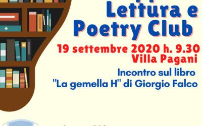 Grruppo di Lettura e Poetry Club Biblioteca di Corbetta