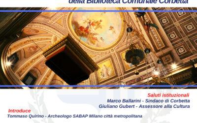 """Presentazione del """"Progetto di valorizzazione culturale della città di Corbetta"""""""