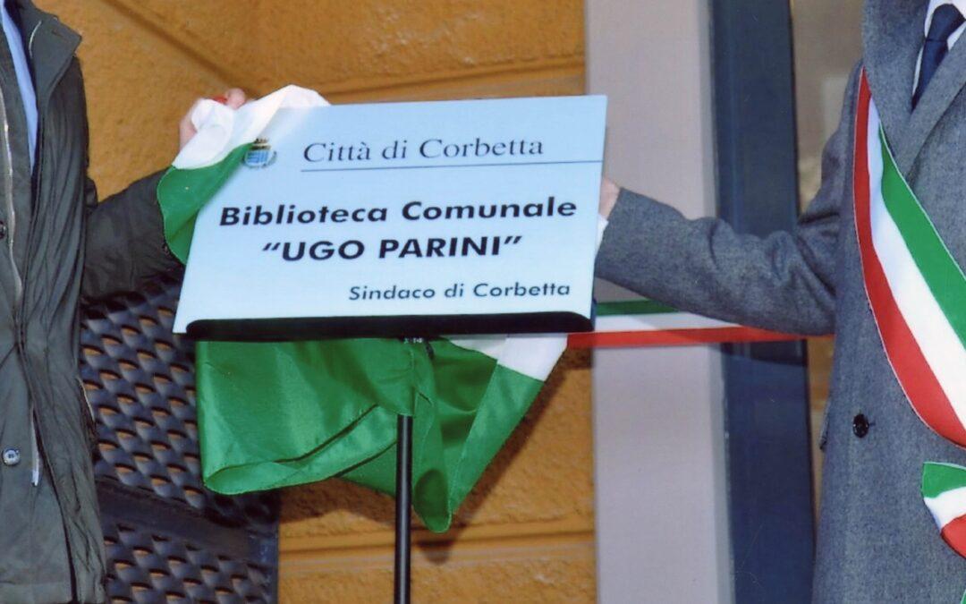"""10° Anniversario dell'inaugurazione della Biblioteca Comunale """"Ugo ParinI"""""""